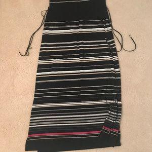 dress or maxi skirt
